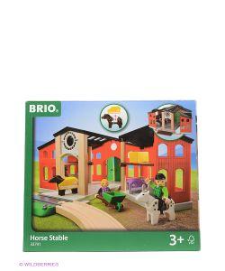 Brio | Игровой Набор С Конюшней2 Лошадки2 Фигурки 33791