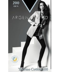 Argentovivo | Колготки Thermo Cotton 200