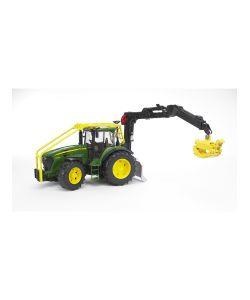 Bruder | Трактор John Deere 7930 Лесной С Манипулятором