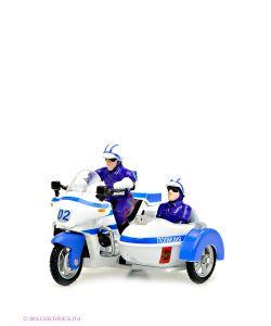 Технопарк | Мотоцикл Милиция/Полиция С Люлькой