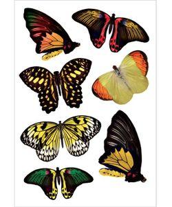 DECORETTO | Виниловые Наклейки Янтарные Бабочки
