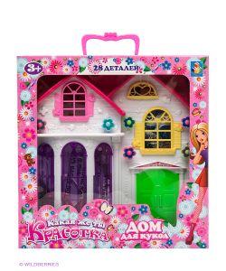 1Toy | Дом Для Кукол Красотка С Мебелью
