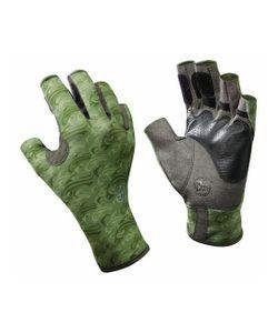 Buff | Перчатки Рыболовные Pro Series Angler Gloves Skoolin Sage Св.