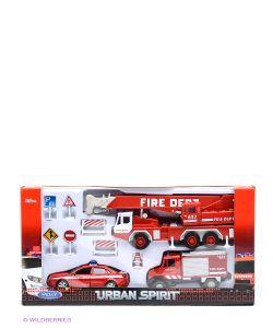 WELLY | Набор Машин Пожарная Служба 10 Шт.