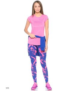 Puma | Леггинсы Elevated Aop Ctn Leggings W