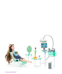 1Toy | Набор Мебели Для Кукол Офис Красотка