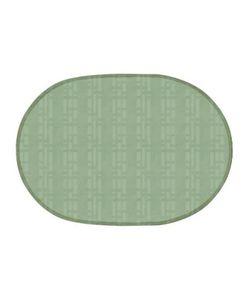IQ-DEKOR | Салфетка Pvc Uni 28x40 Cm Овал Зелен.