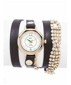La Mer Collections | Часы Crystal Del Mar Mississippi Vintage Bracelet