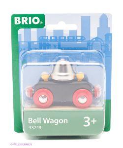 Brio | Вагончик С Сигнальным Колокольчикомзвон При Движии