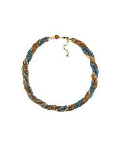 Bottega Murano | Бисерное Ожерелье 24 Цвет 21