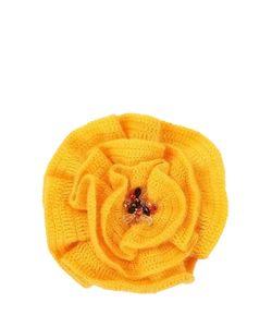 SEANNA | Брошь-Цветок Мак С Серединкой С Натуральным Жемчугом Стразами Swarovski