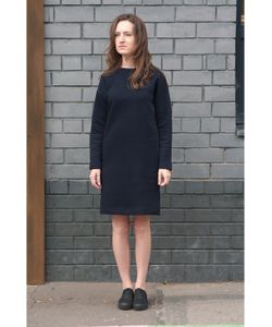 Monoroom | Платье-Свитшот Утепленное Темно Kw3 M 44-46