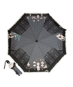 EMME | Зонт Складной M383b-Oc Fashion Nero