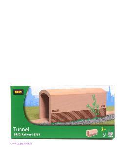 Brio | Деревянный Туннель С Рельсами