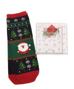 HOBBY LINE   Новогодние Носочки В Подарочной Упаковке