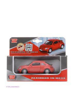 Технопарк | Машина Металлическая Инерционная Volkswagen The Beetle