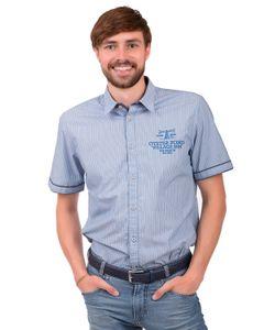 TOM TAILOR | Рубашка С Коротким Рукавом