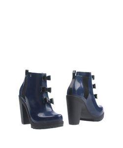 Melissa + Karl Lagerfeld | Полусапоги И Высокие Ботинки
