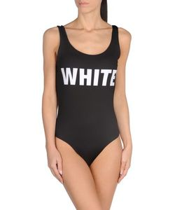 WHITE* | Слитный Купальник