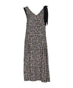 RUE•8ISQUIT | Платье Длиной 3/4