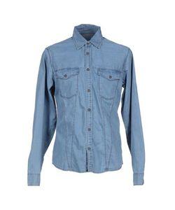 BLUGEOX   Джинсовая Рубашка