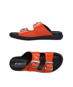 Pinko Black | Сандалии