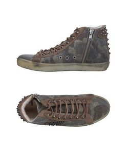 Leather Crown | Высокие Кеды И Кроссовки
