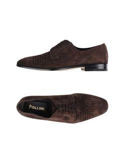 Pollini | Обувь На Шнурках