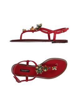Dolce & Gabbana | Вьетнамки