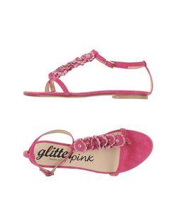 Glitter Pink | Вьетнамки