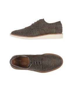 Toms | Обувь На Шнурках