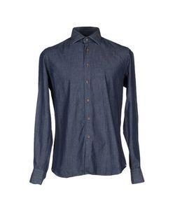 1 BY XACUS   Джинсовая Рубашка