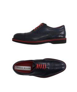 PACO MILAN | Обувь На Шнурках