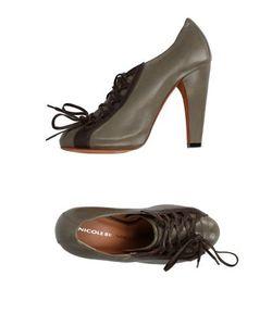 Nicole Brundage | Обувь На Шнурках