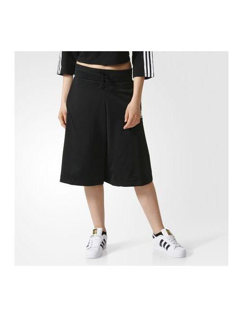 Adidas | Женские Чёрные Брюки-Кюлоты