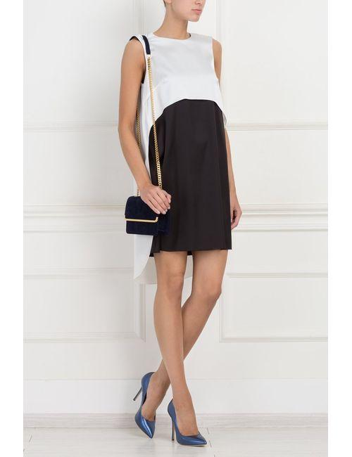 ARnouveau | Женское Чёрное Двухцветное Платье