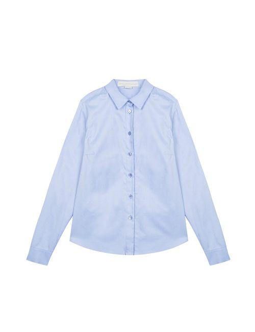 Stella Mccartney | Женская Голуба Хлопковая Рубашка