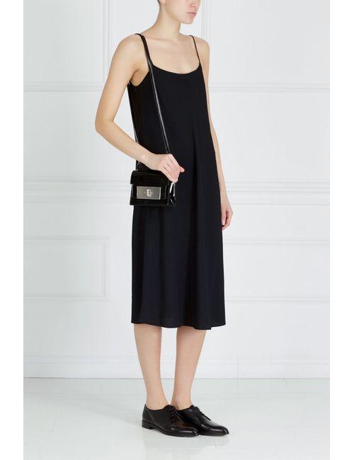 The Row   Чёрное Однотонное Платье