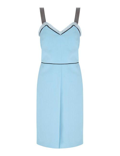 VIKTORIA IRBAIEVA | Женское Голубое Платье