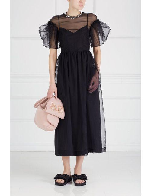 Simone Rocha | Женское Черный Полупрозрачное Платье
