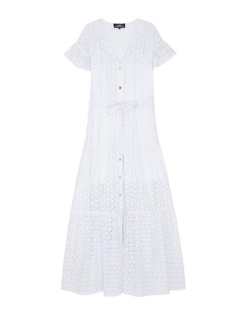 KATЯ DOBRЯKOVA   Женское Белое Кружевное Платье