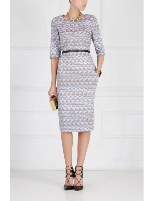 Pallari | Женское Голубое Платье Из Льна