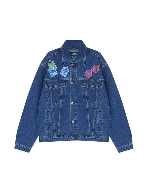 KATЯ DOBRЯKOVA | Женская Синяя Джинсовая Куртка