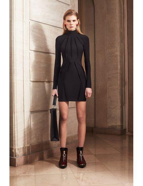 Mugler | Черный Платье-Футляр