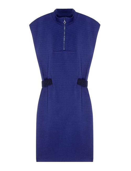 VIKTORIA IRBAIEVA | Женское Синее Однотонное Платье