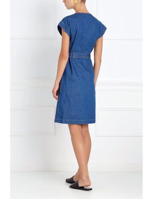 Mih Jeans | Женское Синее Платье Из Денима Tucson