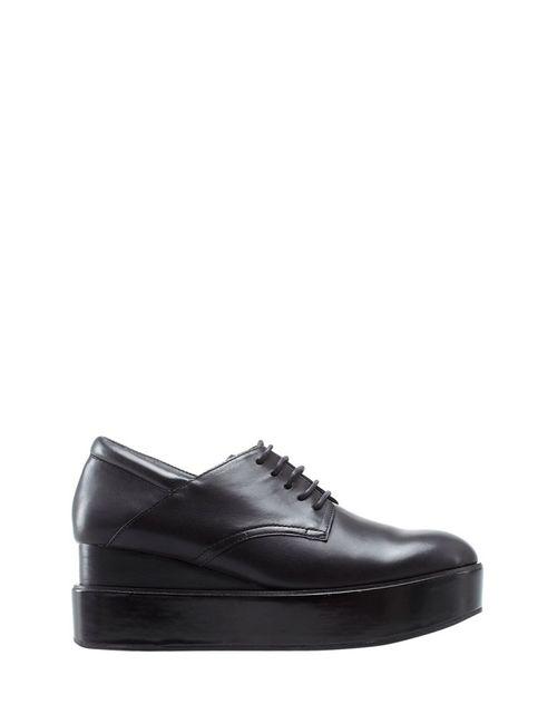 Ash | Женские Чёрные Кожаные Ботинки Madness