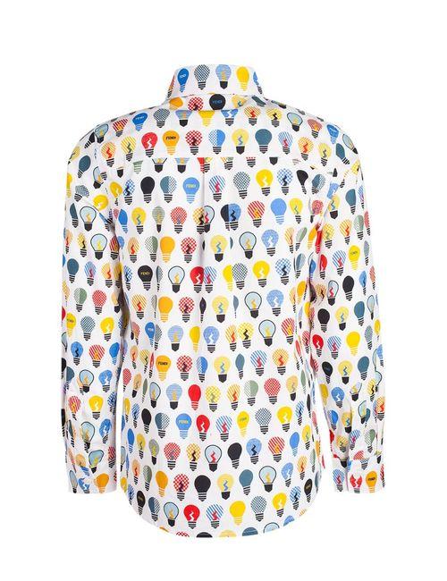 Fendi Children | Многоцветная Рубашка С Принтом