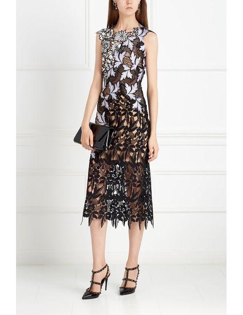 SELF-PORTRAIT | Женское Чёрное Кружевное Платье