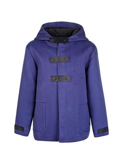 Dior Children | Синее Шерстяное Пальто